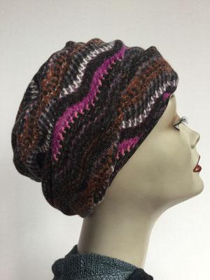 Wi 19d - Beanie genäht - multicolor - Kopfbedeckung kaufen