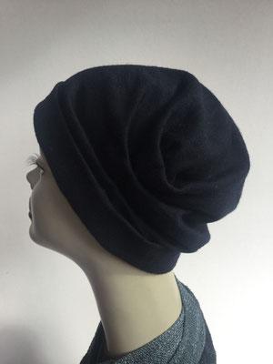 Wi 39b - Turban ohne Schlaufe - dunkelblau - Kopfbedeckung kaufen