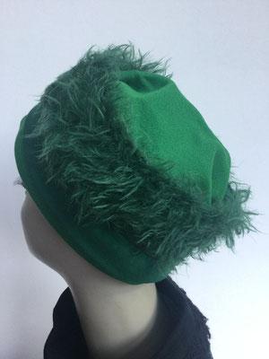 Wi 118 - Stirnband mit doppelter Baumwolle (Krempe) - grün