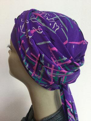 So 59y - violett mit modernen Mustern