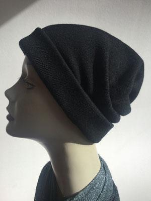"""Wi 37 - Turban """"Nizza"""" ohne Schlaufe - schwarz - Kopfbedeckung kaufen"""