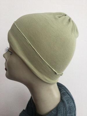 G28 - Kopfbedeckungen kaufen - Baumwollchäppli fest - helles Oliv