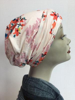 So 19x - Chemochäppli kaufen - Hutmodell Beanie (doppelte Stofflage) - Kirschblüten