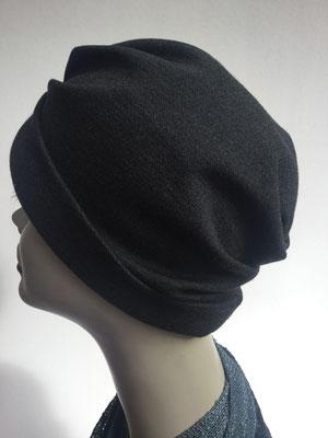 """Wi 34 - Turban """"Nizza"""" ohne Schlaufe - anthrazit - Kopfbedeckung kaufen"""