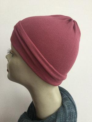 G29b - Kopfbedeckungen kaufen - Baumwollchäppli fest - hellrot