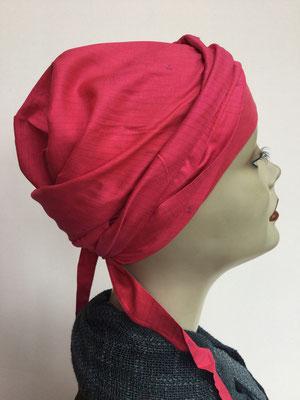 So 59k - Chemochäppli kaufen - Bajazzo Seide - Kaltes Rot