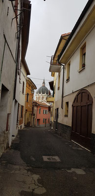 Fontanile mit seiner barocken Kirche.