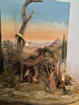 Orientalischen Krippe, Charly Hofer, Hintergrund Barbara Hofer, Kärnten