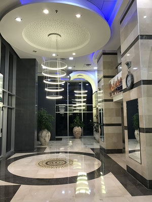 Lobby somptueux