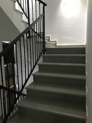 vers l'étage supérieur