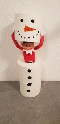 13.12. - Einen Schneemann bauen ohne Schnee ist ganz einfach