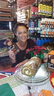 Karen's delicious gluten free pumpkin roll
