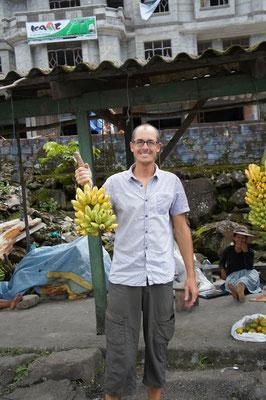 On achèe les bananes par régimes !