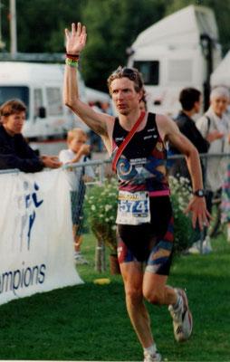 Philip Schädler finisht den Euroman in Zürich über die Ironman Distanz am 11.8.1996 auf Rang 241 (37. Kat. EM1) in 11:18:04 Std.