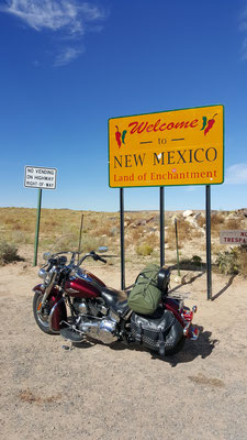 mexico state line, four corners