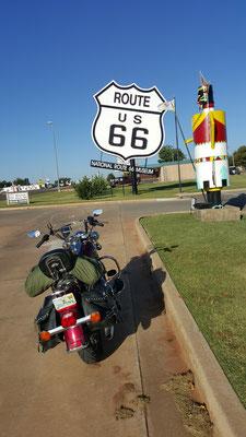 route 66 museum, clinton, oklahoma