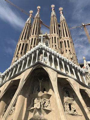 Sagrada Familia, Barcelona, Spanien (2019)