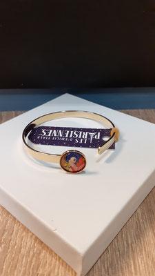 """<FONT size=""""5pt"""">Bracelet Fin Or Parisiennes Automne- <B>29,00 €</B> </FONT>"""