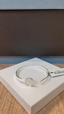 """<FONT size=""""5pt"""">Bracelet fin Argent Parisiennes Bim - <B>25,00 €</B> </FONT>"""