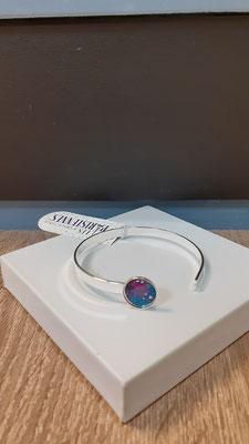 """<FONT size=""""5pt"""">Bracelet fin Argent Parisiennes Vibrations - <B>25,00 €</B> </FONT>"""