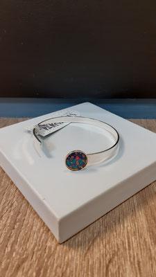 """<FONT size=""""5pt"""">Bracelet fin Argent Parisiennes Rio- <B>25,00 €</B> </FONT>"""