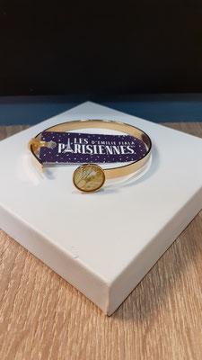 """<FONT size=""""5pt"""">Bracelet Fin Or Parisiennes Paillettes- <B>29,00 €</B> </FONT>"""