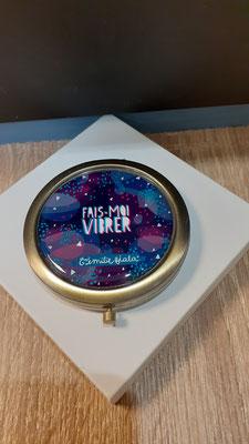 """<FONT size=""""5pt"""">Miroir bronze antique Vibrations  - <B>16,50 €</B> </FONT>"""