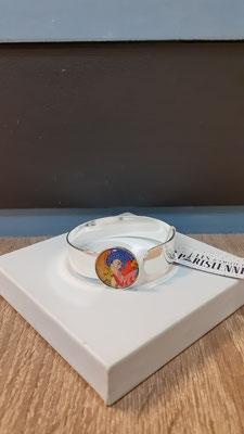 """<FONT size=""""5pt"""">Bracelet Médium Argent Parisiennes Automne - <B>35,00 €</B> </FONT>"""