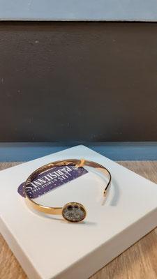 """<FONT size=""""5pt"""">Bracelet Fin Or Parisiennes Botanica- <B>29,00 €</B> </FONT>"""