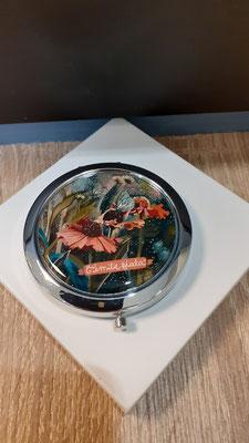 """<FONT size=""""5pt"""">Miroir argenté Helenium - <B>16,50 €</B> </FONT>"""
