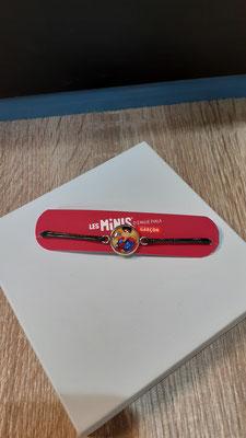 """<FONT size=""""5pt"""">Bracelet Les Minis Superhéros - <B>9,90 €</B> </FONT>"""