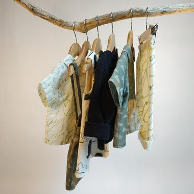 Mode éco-responsable Mode éco-responsable : vêtements pour enfants 0 à 4 ans et femme  en tissu biologique peint main et tricot en fibr: vêtements pour enfants 0 à 4 ans en tissu biologique peint main et tricot en fibres recyclées. Fabrication française.