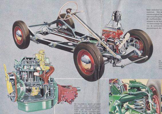 Brochure Austin A40 Somerset.