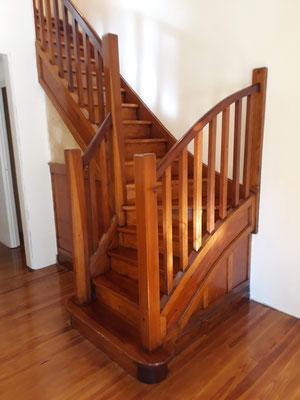 pulidos de escaleras de madera