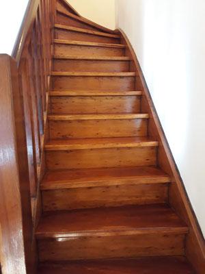 plastificado de escaleras