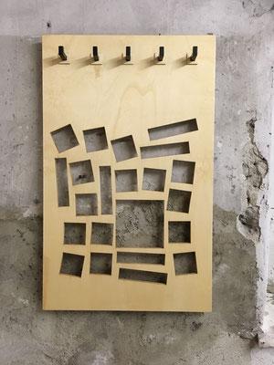 Garderobe 100 x 60cm Wolfgang Wallner
