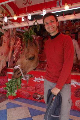 Le quartier des Habous - Vive la viande de chameau !!