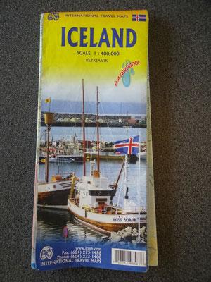 goede wegenkaart IJsland