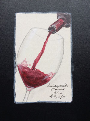 Pinot Noir im Glas