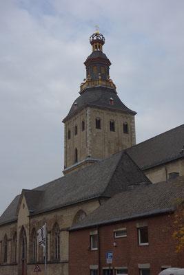 La chiesa St.Ursula dal sud
