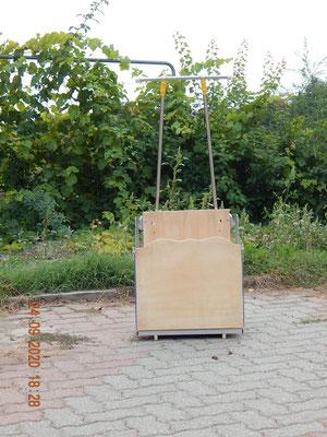 carrello scale Dondolino con scala box per cane