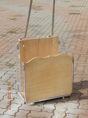 l nuovo saliscale domestico da 30 kg Dondolino con il contenitore Scalabox .