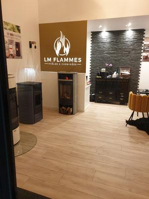 Séparation d'intérieur découpe laser LM flammes