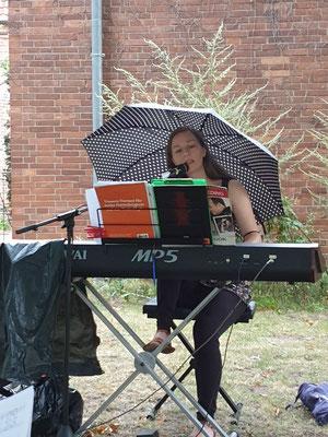 ...bis zur Chorleitung reichte das Blätterdach jedoch nicht ;-)