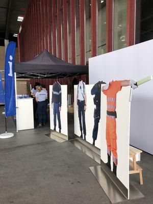 Securitas Event Grossanlass Bi de Luet Grafik Fotowand