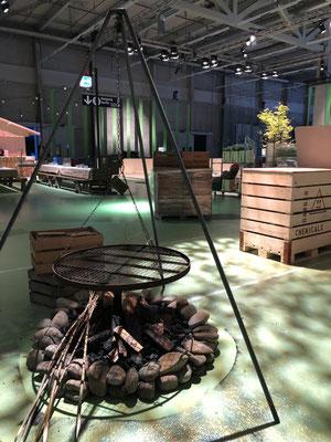 Event Dekoration Personalfest Grillstelle