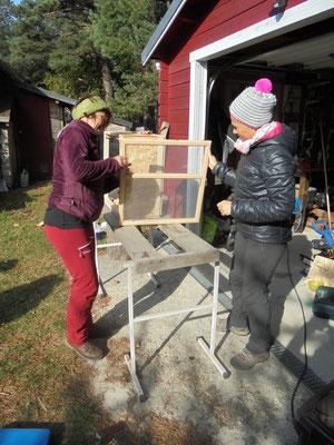 Fabrication du garde-manger