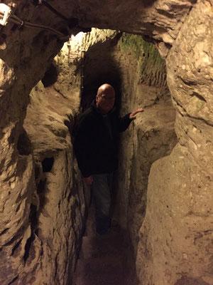 Schmid im Tunnel