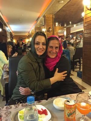 Razeah (Rosie) und Moni