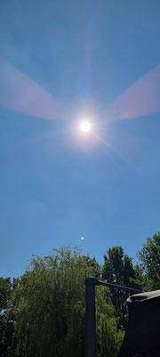 Stukje zonsverduistering